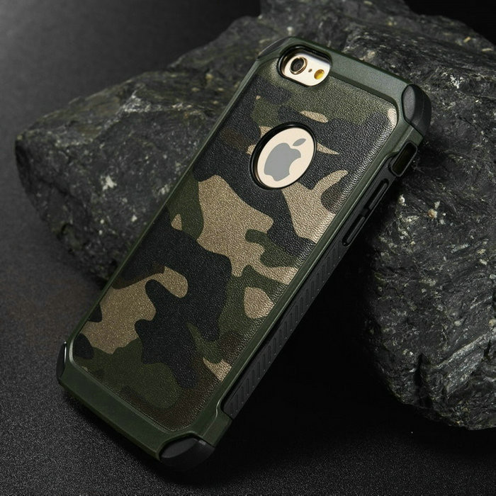 premium selection abed1 2c443 US $5.99 |Military Camouflage Case Navy Army Camo Hard Plastic Cover + Soft  TPU Armor phone cases for iPhone 5 5S 6 6 plus SE for Samsung on ...