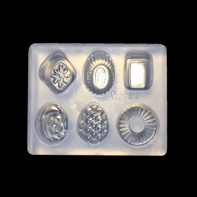 Jewelry Silicone Mold Mini Candy Pendant DIY Keychain Earrings Mold Resin Casing Jewelry Making Tools