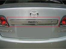 Высокое качество нержавеющей стали Задняя Крышка Багажника Крышка Отделка (замочную скважину) Для 2003-2008 Mazda 6