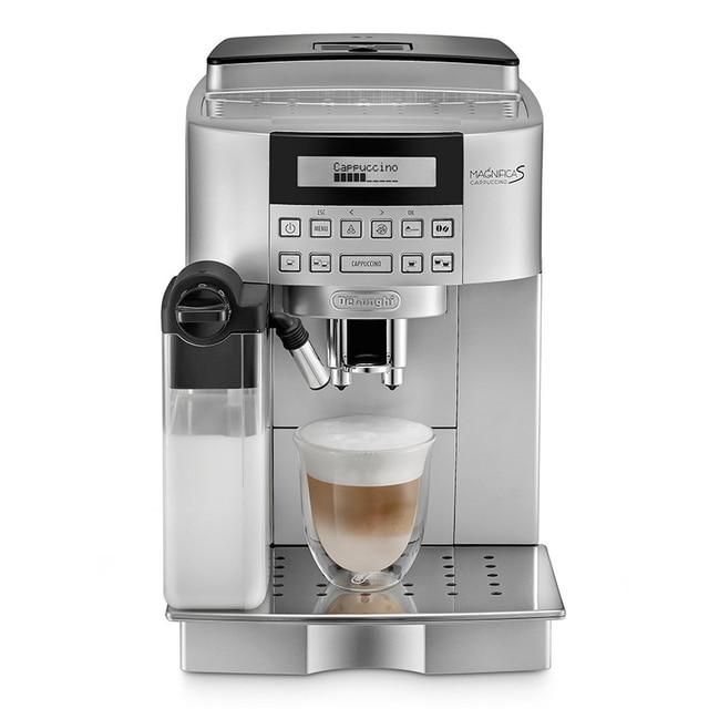 Coffee Maker Pump Type 2 in 1 Foamer Milk Foam Espresso Machine Italian Coffee Bean Grinder Machine ECAM22.360.S