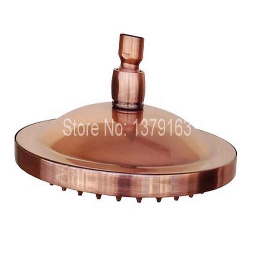 "8"" ( inch ) Vintage Red Copper Antique Brass Round Shape Bath Rainfall Shower head / Bathroom Accessory (Standard 1/2"") ash002"
