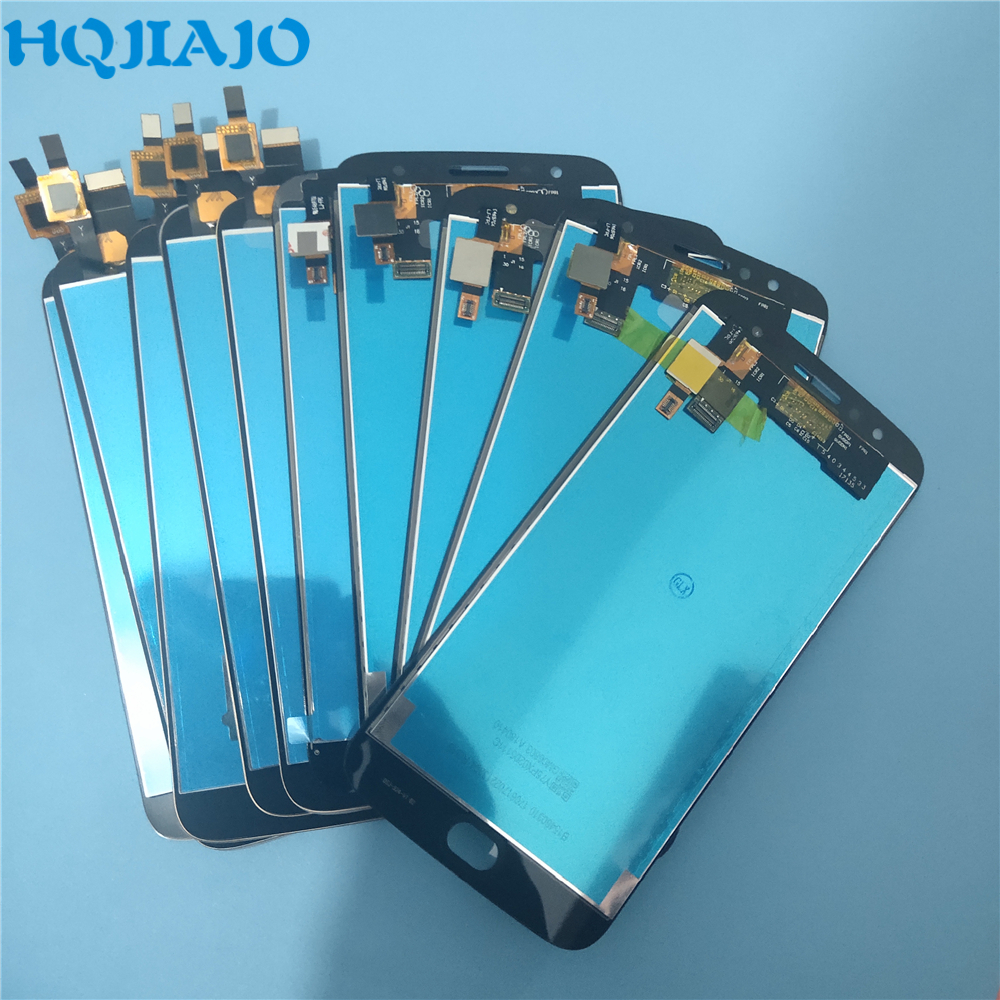 10Piece lot Super AMOLED LCD Screen For Motorola Moto G5S Plus XT1802 Xt1803 XT1805 Xt108 LCD