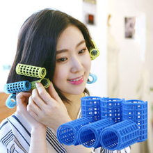 12pcs/10pcs/8pcs/6pcs Plastic Hair Rollers Magic Curlers DIY Salon Tool Soft Large Hairdressing Tools