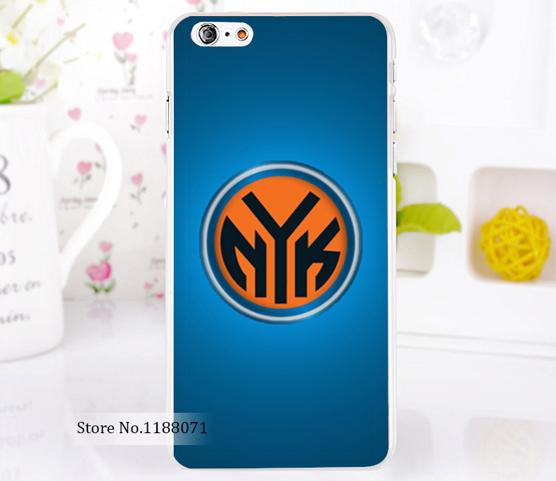 new york knicks new york knicks Style For iPhone 6 6s 6g iphone 6+ 6 plus Transparent Case Hard Clear Cover New arrival