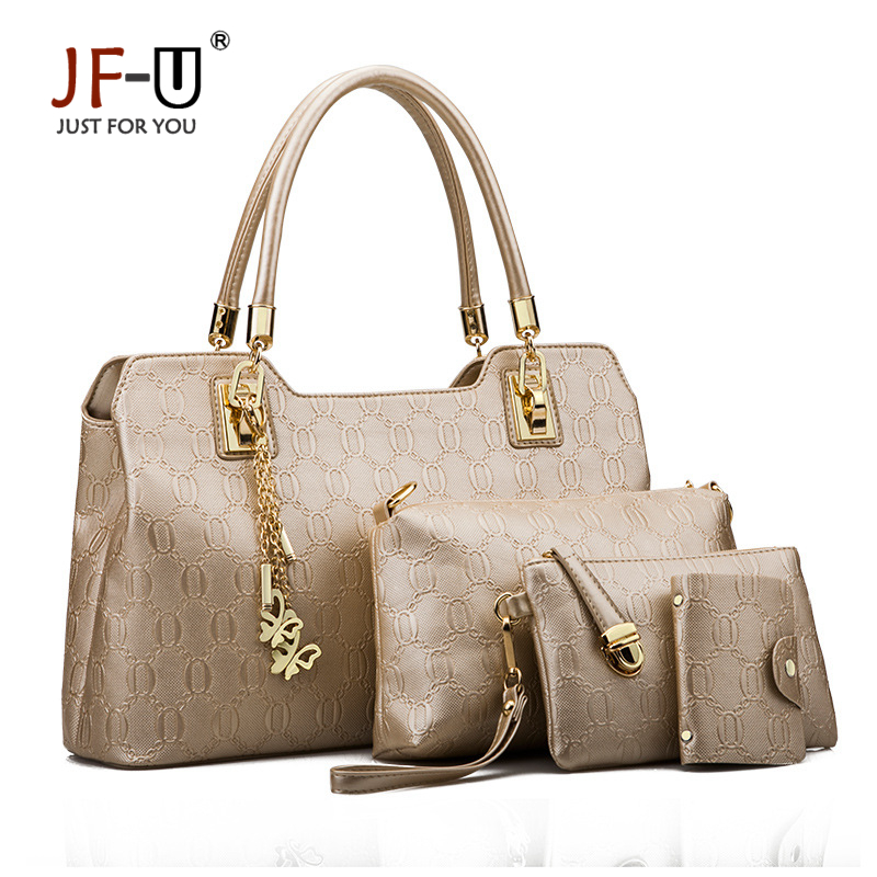 JF-U Woman Bags 2017 Bag Handbag Fashion Handbags Women Famous Brands Shoulder B