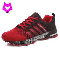 YTracyGold Women Shoes Striped Sneakers Women Couple Unisex Casual Shoes Pluse Size 35 47 Breathable Lace