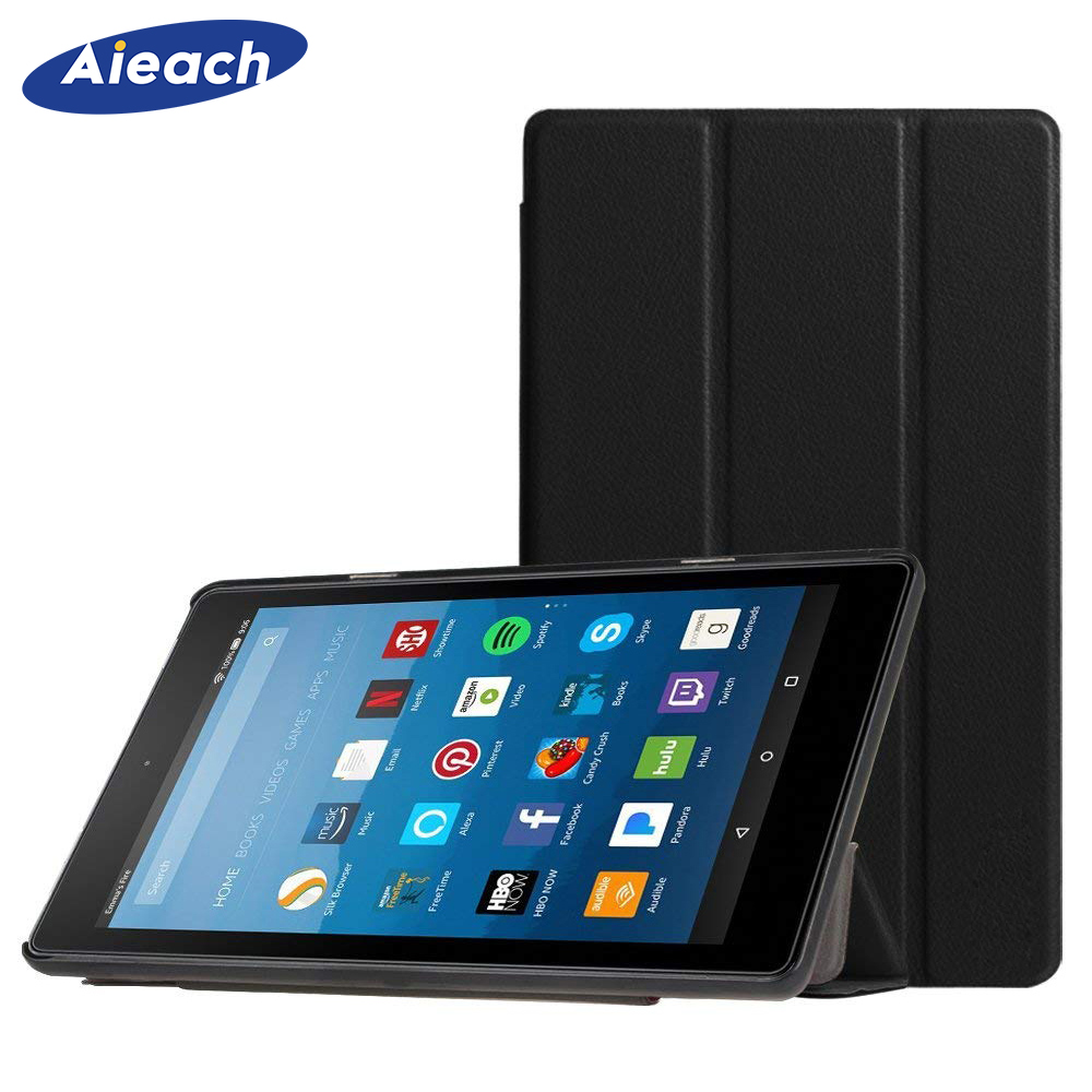 For Amazon Kindle Fire HD 8 Case 2018 2017 2016 PU Leather Cover Smart Folding Stand Case For Amazon Fire HD 8 8th 7th 6th GenFor Amazon Kindle Fire HD 8 Case 2018 2017 2016 PU Leather Cover Smart Folding Stand Case For Amazon Fire HD 8 8th 7th 6th Gen