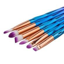 10Pcs Eye Makeup Brush Set