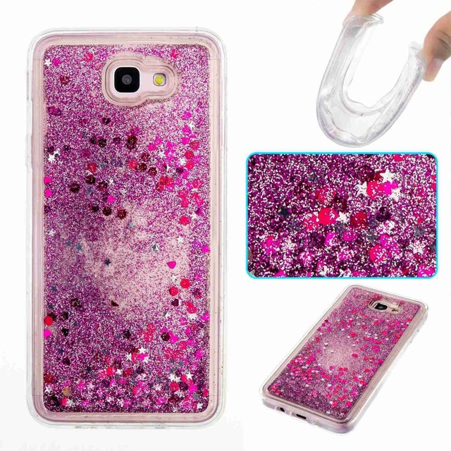 a607d0654a US $3.84 |Soft Glitter Star Flowing Liquid Case For Samsung Galaxy J5 Prime  Cover For Samsung Galaxy J7 Prime Case Silicone Transparent on ...