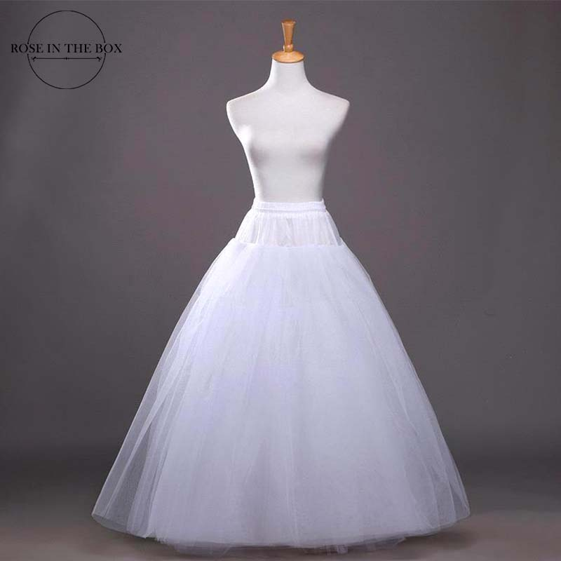 Anagua Cheap Underskirt Ball Gown Petticoat For Wedding Dress 2019 Fluffy Wedding Petticoats Crinoline Free Shipping Jupon