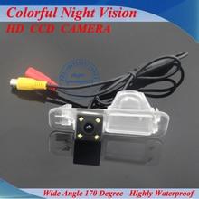 Бесплатная доставка Специальный SONY CCD автомобилей камера заднего вида для KIA K2 Рио седан водонепроницаемый ночь версии