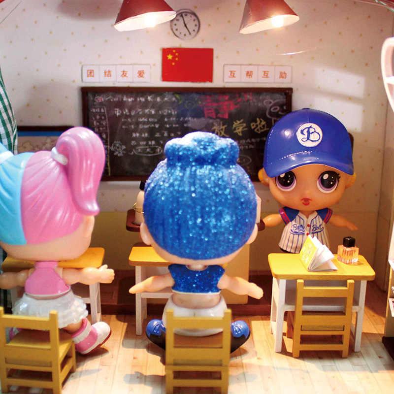 DIY Brinquedos Boneca Lol lol Bonecas Princesa Crianças Surpresas Eaki CCT bola com Caixa de Presente do bebê Brinquedos para As Crianças Meninas ano novo Presente