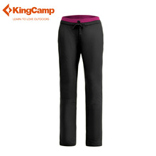 KingCamp Womens Waterproof Outdoor Thermal Softshell Pants Quick Dry Hunting Climbing Camping Fishing Polar Fleece Ski Trousers