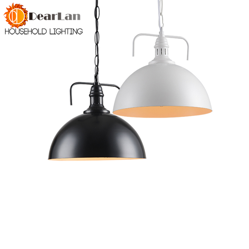 Best Price Modern Personality Single-Head Bar Counter Pendant Light Metal Light Dining Room Cafe Bar Lamp Home Lightings