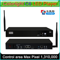 Colorlight C6 светодиодный плеер асинхронный Светодиодный Отправитель коробка поддерживает все Colorlight светодиодный получения карты
