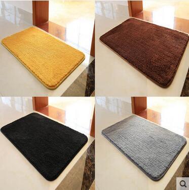 Hallway Rugs Thick Tapete Carpet Home Door Mats Short Plush Fabric Bathroom Rug Anti Slip Entrance Floor 40 60cm In From Garden On