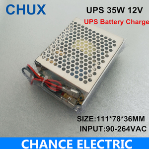 35W 12V Universal AC UPS/Charge Function Monitor Switching Mode Power Supply Charge the Battery