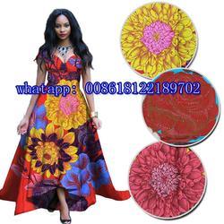 Wysokiej jakości kamienie Ankara wosk tkaniny 100% bawełna prawdziwy wosk afrykański druku tkaniny prawdziwymi nigerii tkaniny woskiem H170714