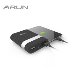 Arun high safety10000mah power bank dual usb with usb output 2 1a backup battery packs for.jpg 250x250