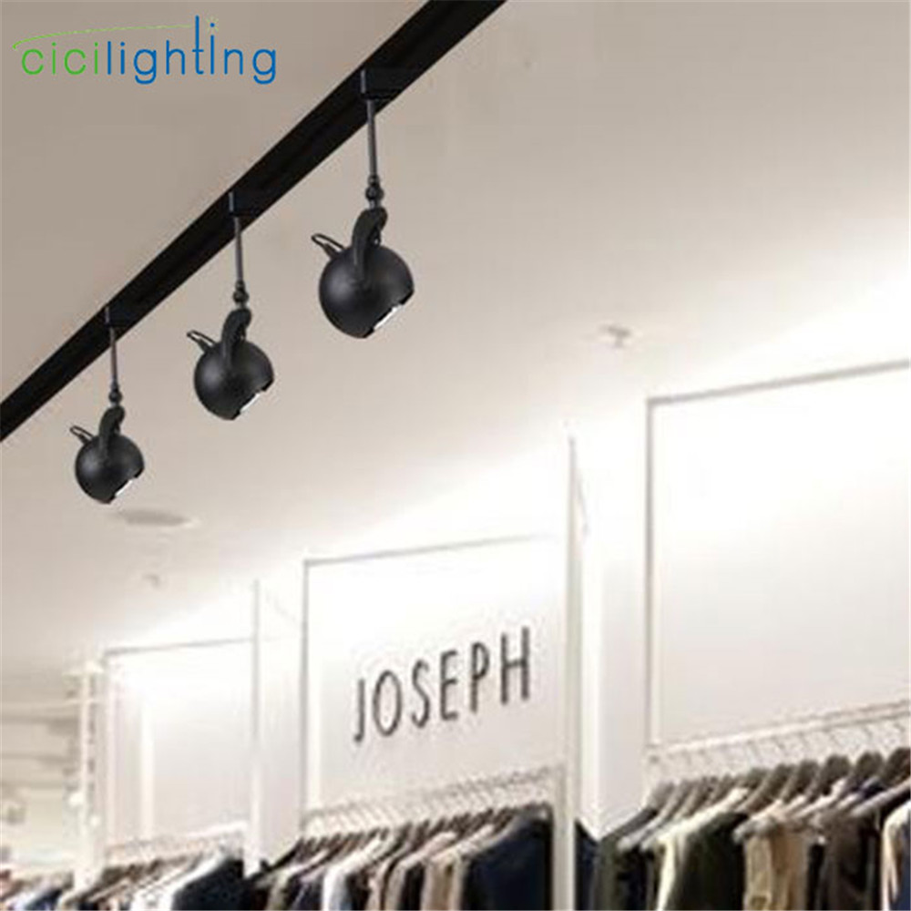 museum track lighting. Black Cob Spotlights 5W LED Track Light Lamp KTV Bar Restaurant Cafe Museum Picture Lighting E27 Adjustable Wall Kitchen Fixture-in From Lights
