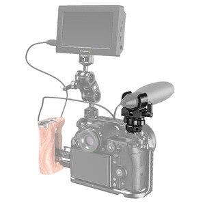 Image 5 - Smallrig Dslr Camera Kooi Microfoon Houder (Koude Schoen) met 19 25Mm Diameter Microfoon Shock Klem Houder 2352