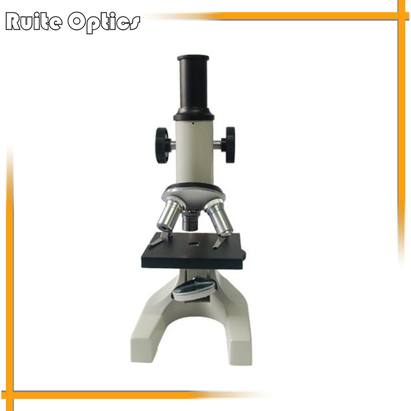 40X 400X Simple and Compact Educational Student Microscope with Reflecting Mirror
