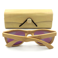 Retro Bamboo Wood Sunglasses Box Glasses Case Eyeglasses Protector Holder Without Glasses for Men Women 16.3 x 5.8 x 4cm цена и фото
