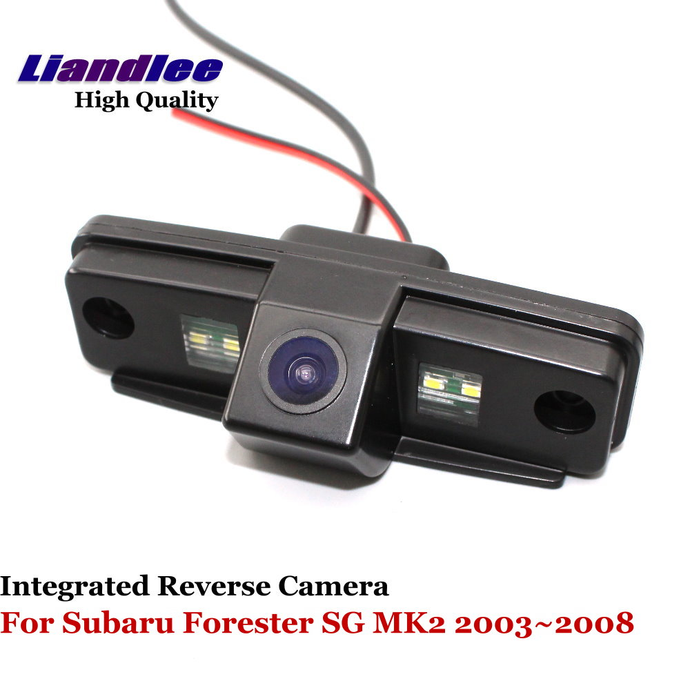 Liandlee For Subaru Forester SG MK2 2003~2008 Car Rear View Backup Parking Camera Rear Reverse Camera / SONY CCD HD Integrated цена