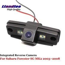 Liandlee для Subaru Forester SG MK2 2003 ~ 2008 автомобилей заднего вида Парковка Камера сзади Обратный Камера/SONY CCD HD Integrated