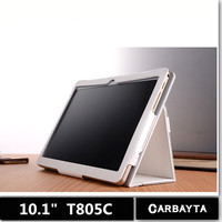 10 1 Inch Tablet Case TD Lenovo T805C Our Special Case Mouse Grain Leather White And