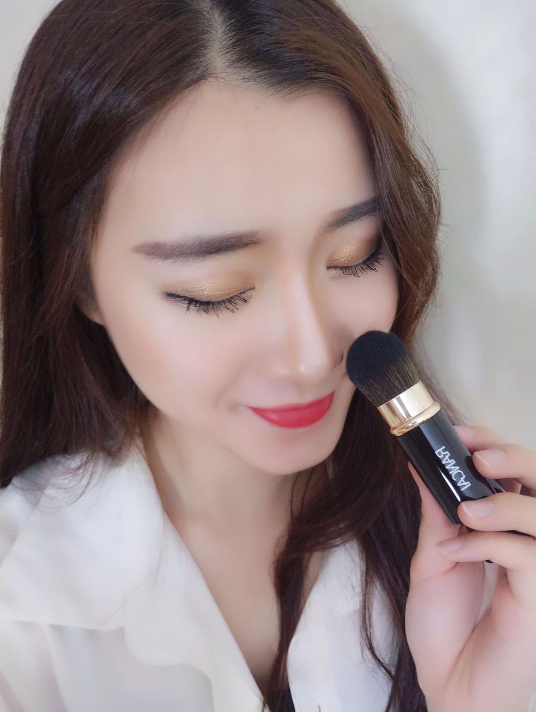 RC Retractable Makeup Brush Foundation Powder Blush Blending Face Adjustable Brushes-1