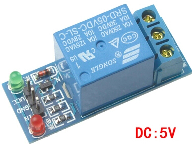 1piece 1 Channel 5V Relay Module Low Level For SCM Household Appliance Control For Arduino