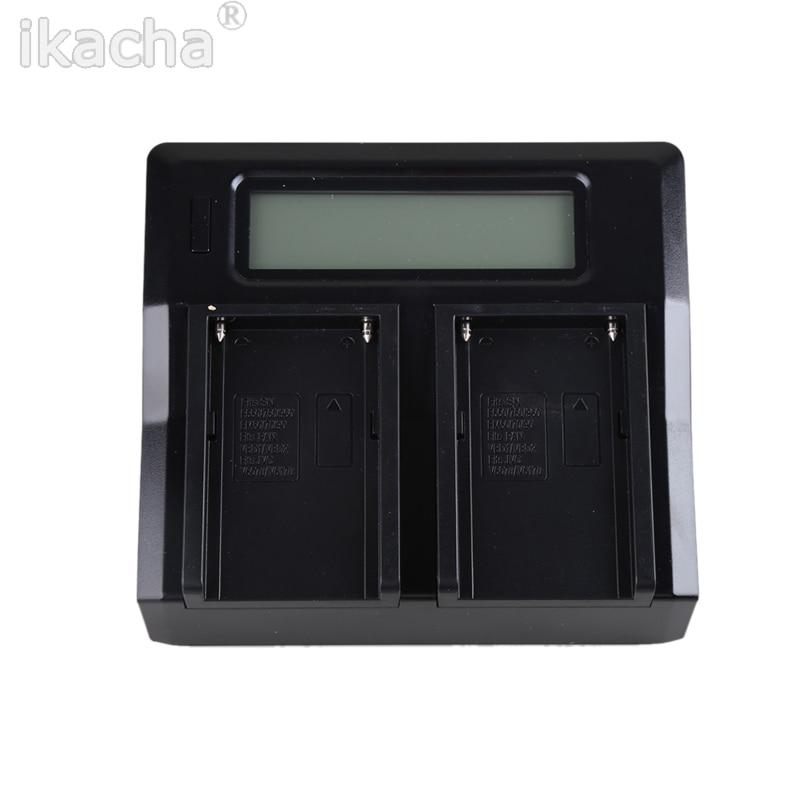 LP-E10 numérique double chargeur de batterie LCD pour Canon EOS KISS X50 X70 1100D rebelle T3 T5
