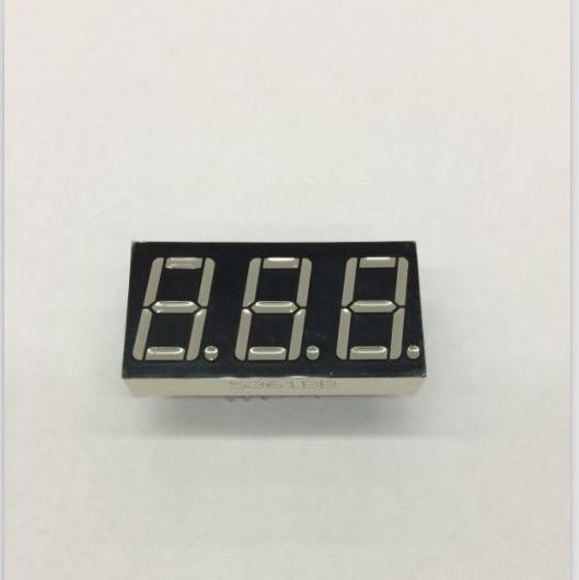 Glyduino 0.56 inch 3 Bit Common Cathode Digital Tube LED Display Module for Arduino