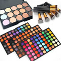 Best Makeup Kits 180 Colors Eyeshadow Palette + 10pcs Makeup Brush Set + 15 Concealer Kit