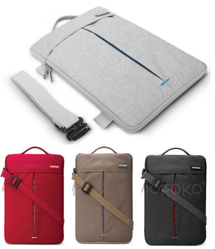 POFOKO Brand new Shoulder Sleeve Carry Bag Case Skin Pouch cover For Apple MacBook AIR White Pro Retina 11 11.6 12 13 15 inch messenger bag