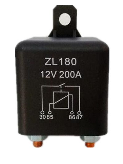 цена на 200A/DC12V/24V/48V Relay 4 Pin For Car Auto Heavy Duty Install car starting relay for Amp Style High power