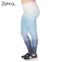 Fashion Large Size Leggings Wild Mountain
