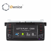 Ownice C500 PC Veículo Navegador GPS Auto DVD De Vídeo Multimídia Player para BMW 3 Série 2 E46 Touring Convertible Compacto Coupe