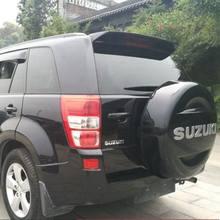 Para suzuki vitara spoiler abs material asa traseira do carro primer cor spoiler traseiro para suzuki grand vitara spoiler 2009-2013