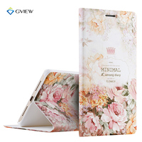 Luxury PU Leather 3D Relief Printing Stereo Feeling Smart Flip Cover Case For Xiaomi Mi Max