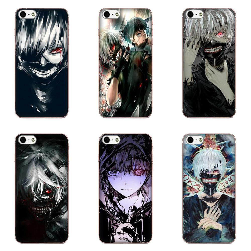 Fundas Phone Case Cover Anime Tokyo Ghoul For Galaxy A3 A5 A7 On5 On7 2015 2016 2017 Grand Alpha G850 Core2 Prime S2 I9082 image