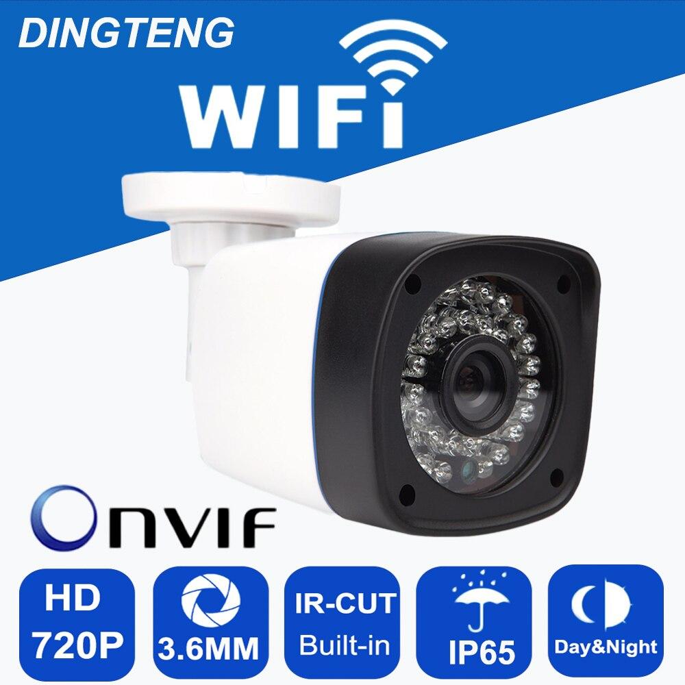 CCTV IP Camera 720P 1.0MP HD Wifi Camera IP Network P2P Onvif Wirless Security Camera Waterproof Night Vision free shipping wifi ipc 720p 1280 720p household camera onvif with allbrand camera free shipping