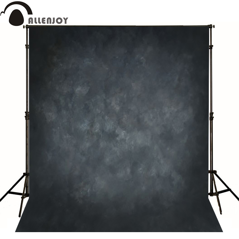 Allenjoy Thin Vinyl cloth photography Backdrop Deep black Children Wedding Baby Background Photo Studio Decor Backgrounds MH-098 allenjoy 10ftx6 5ft fireworks photography backdrop black night romantic wedding background for photography studio without stand