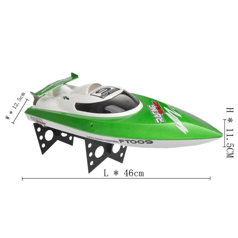 Горячая Feilun ft009 лодке 2.4 GHz 4 канала водяное охлаждение высокой скорости гоночный RC лодка подарок Новый высокое качество 30