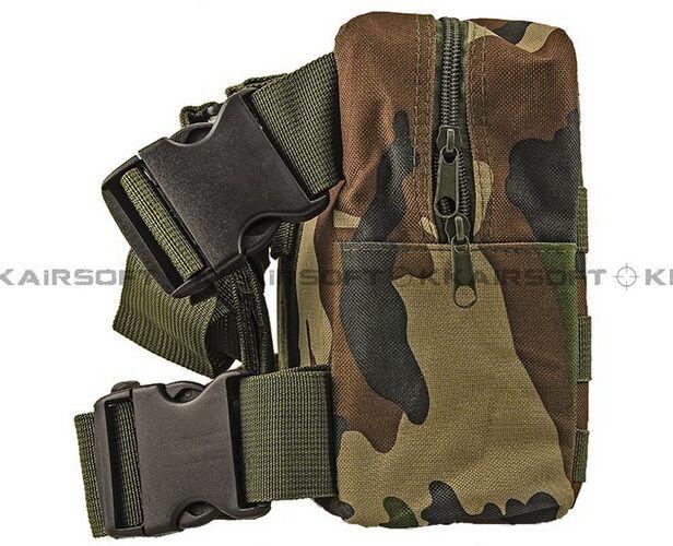 Молл военно-тактические талии мешок рюкзак падения нога Панель Утилита сумка [ph-04-cp песок камуфляж BK зеленый камуфляж] - Цвет: Green Camo