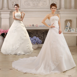 Free Shipping Vestidos De Novia Real Photo Sleeveless Sequins Bling Wedding Dress Cheap White Princess Bride Gowns XXN001 2