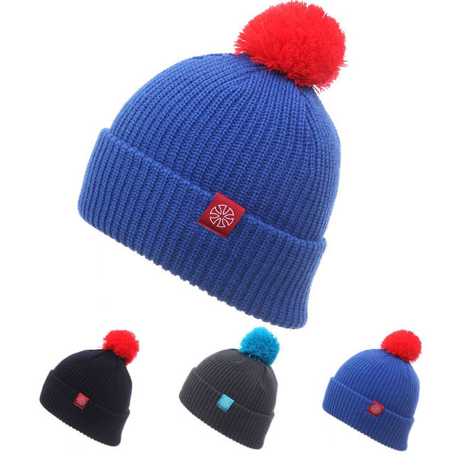83b2e604cdd1c Fashion Snowboard Winter Ski Hats Warm Wool Caps For Men Women Female Beanies  Hat Skullies Beany Quality Gorros Hombre Casquette
