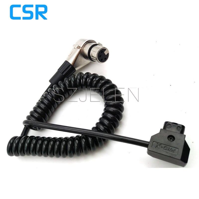 4-pin XLR macho a hembra Cable de alimentación DTaP