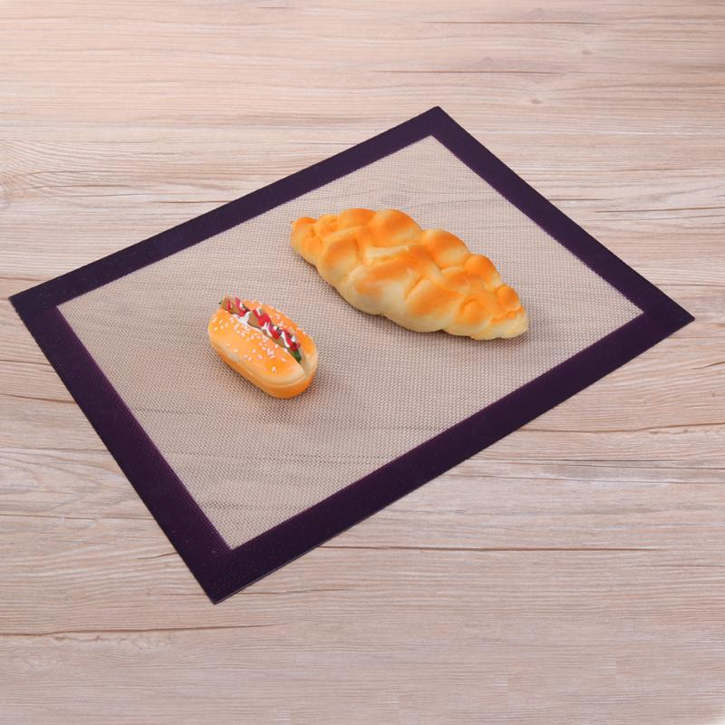 Non-Stick Sheet Large Silicone Cookie Baking Liner Kitchen